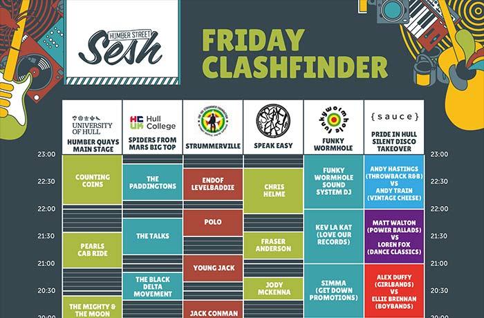 Clashfinder - Friday