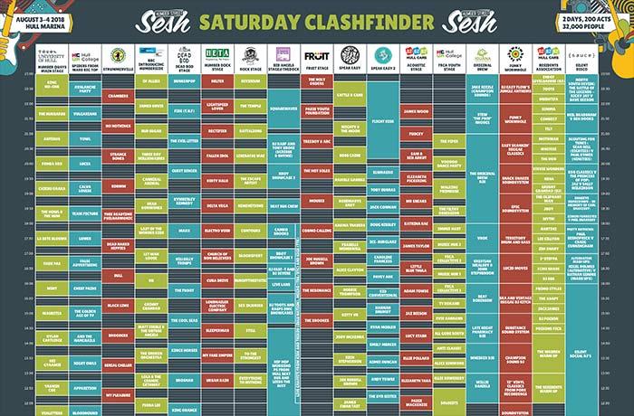 Clashfinder - Saturday